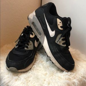 Nike Air Max Black, White, Gray